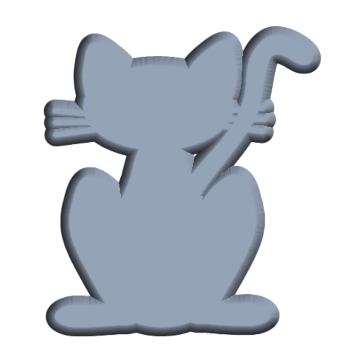 bevelcatcurved